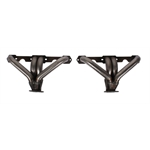 Small Block Chevy Hugger Tight-Fit Headers for Angle Plug Heads, Plain