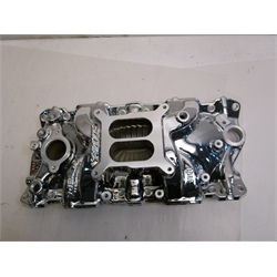 Garage Sale - Edelbrock Performer EPS Chevy Intake Manifold, Endurashine Finish