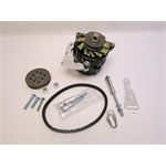 Garage Sale - Powermaster 8-721 Small Block Chevy 75 Amp Mini Alternator w/V-Belt Kit