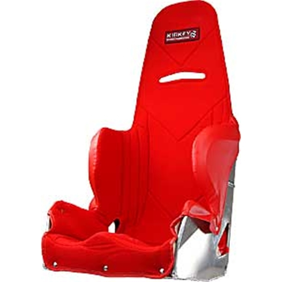Garage sale kirkey red seat cover for 15 inch 36 series for Garage seat nevers