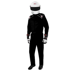Garage Sale - Bell Pro Drive II Racing Suit, One-Piece, SIngle Layer, Black, Size XL