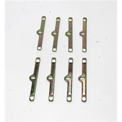 Garage Sale - Valve Cover Hold Down Clamps - Set of 8, Yellow Zinc Finish