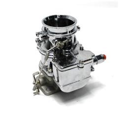 Garage Sale - Secondary 9 Super 7 3-Bolt 2-Barrel Carburetor, Chrome Finish