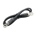 Accel 1843 Battery Cable, 3 Feet, 2 Gauge, Black Ground Cable