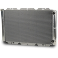 AFCO 80126N Double Pass Racing Radiator-32 Inch Wide, 1-1/2 Inch Inlet