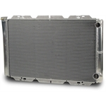AFCO 80126N Double Pass Racing Radiator 31 Inch Wide, 1-1/2 Inch Inlet