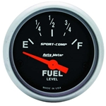 Auto Meter 3317 Sport-Comp Air-Core Electric Fuel Level Gauge, 2-1/16