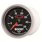 Auto Meter 3604-00406 GM Black Mechanical Boost Gauge, 2-1/16 Inch