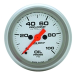 Auto Meter 4353 Ultra-Lite Digital Stepper Motor Oil Pressure Gauge