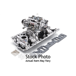 Edelbrock 2029 Single-Quad Intake Manifold/Carburetor Kit
