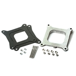 Holley 717-1 Aluminum intake manifold wedged spacer