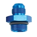 Straight High-Flow O-Ring -10 AN Hose to -10 AN Port Fitting