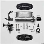 Wilwood 261-13269 H/V Tandem Master Cylinder Kit, Brkt/Valve, 1 Inch