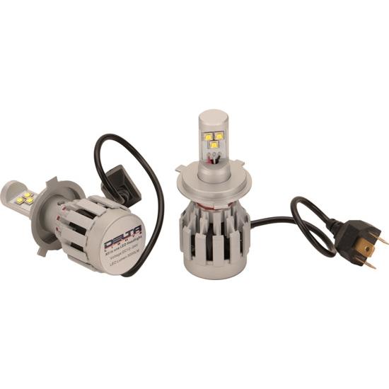 delta 03 1304 led2 led h4 headlight bulb conversion kit 25 watt ebay. Black Bedroom Furniture Sets. Home Design Ideas