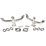 Flathead Center Dump Headers, Stainless