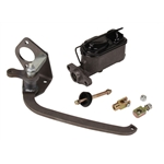 Universal Stainless Sleeved Brake Pedal Assembly
