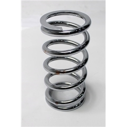 Garage Sale - AFCO 27300-1CR 7 Inch Extreme Chrome Coil-Over Spring, 300 Rate