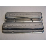 Garage Sale - Finned 1960-86 Small Block Chevy Polished Valve Covers