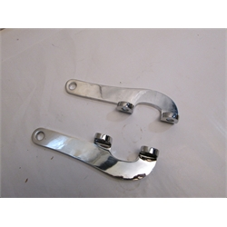 Garage Sale - Chevy Flat Tie Rod Steering Arms, Chrome