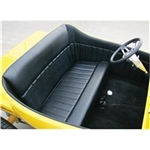 Garage Sale - T Bucket Interior Kit For 1923 Standard Body With Unchanneled Floor, Black
