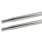 AFCO 36217 Swedged Aluminum Tube, 1 Inch O.D.(5/8) Inch, 17 Inch Long