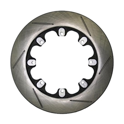 AFCO 6640111 12.19 Inch Pillar Vane Slotted Rotor, 1.25 Inch, LH Side