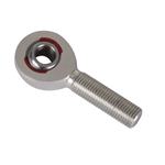 Rod End Supply AM 6-7 Alum Heim Rod End-7/16-20 LH Male, 3/8 Inch Hole