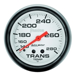 Auto Meter 5851 Phantom Mechanical Transmission Temp Gauge, 2-5/8 Inch