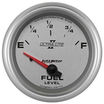 Auto Meter 7714 Ultra-Lite II Air-Core Fuel Level Gauge, 2-5/8 Inch