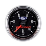 Auto Meter 880085 Ford Racing Digital Stepper Motor Oil Pressure Gauge
