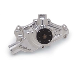 Edelbrock 8822 Victor Series Water Pump, 1971-82 S/B Chevy Corvette, Polished