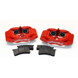 Wilwood 140-15173-R SLC56 Front Replacement Caliper Kit, Red
