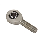 QA1 Chromoly Steel Rod End Heim, 1/2 x 7/16 Inch, Left Hand Thread, Male