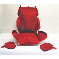 Garage Sale - Kirkey 14 Inch Full Containment Seat Cover, Red