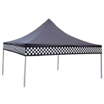 Garage Sale - Checker Flag Canopy