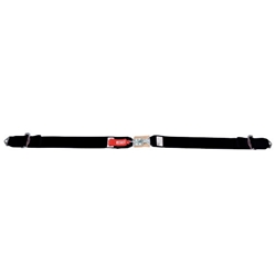Garage Sale - Simpson Bolt-In Lap Belts, Latch and Link, Pull-Up, Black