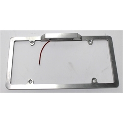 Garage Sale - Billet Aluminum License Plate Holder w/ Light