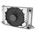 AFCO 80104NFANZ Scirocco-Style Fan & Shroud Assembly, Polished