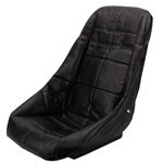 EMPI 62-2408 Poly Low Back Bucket Seat Cover, Black w/Square Pattern