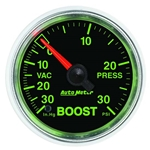Auto Meter 3803 GS Mechanical Boost/Vacuum Gauge, 2-1/16 Inch