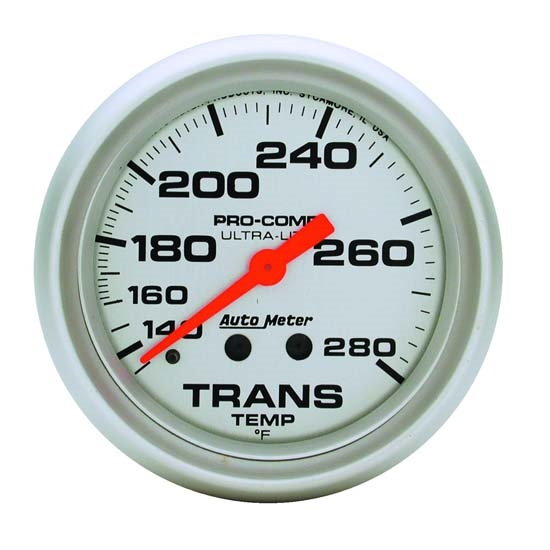 Auto Meter 4451 Ultra-Lite Mechanical Transmission Temperature Gauge