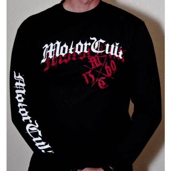 MotorCult Apparel 2118 Headers II Long Sleeve Shirt, Small