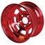 Aero 50-924720RED 50 Series 15x12 Inch Wheel, 5 on 4-3/4 BP 2 Inch BS