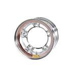 Bassett 55SR45C 15X15 Wide-5 4.5 Inch Backspace Chrome Wheel