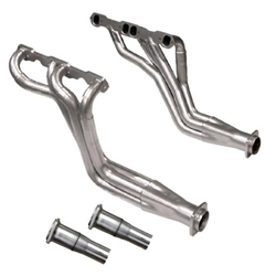 Dynatech® Long Tube Headers, 1-3/4 - 1-7/8 x 3, 2-1/2 Reducer, Ceramic Coated