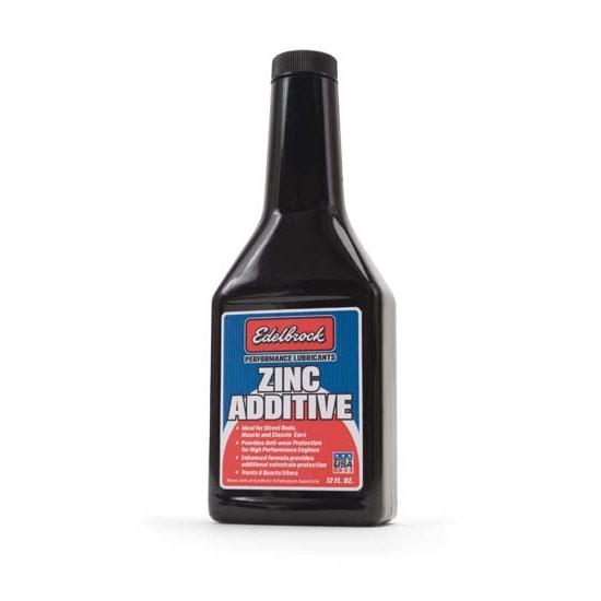 Edelbrock 1074 High Performance Zinc Engine Oil Treatment