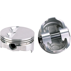 Icon Chevy 421 Forged Pistons, Flat Top, 6.0 Rod