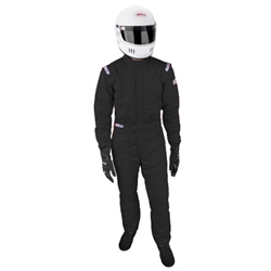 Sparco 001055JUS1SRS Jade 3-Layer Racing Suit, Red, Size Small