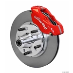 Wilwood 140-11020-R FDL Pro Series Front Brake Kit, 62-72 CDP B/E-Body