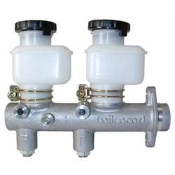 Wilwood 260-8794 Tandem Master Cylinder w/ Fixed Reservoirs, 1 In Bore
